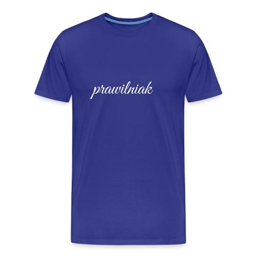 saszetka/nerka (prawilniak) - Koszulka męska Premium