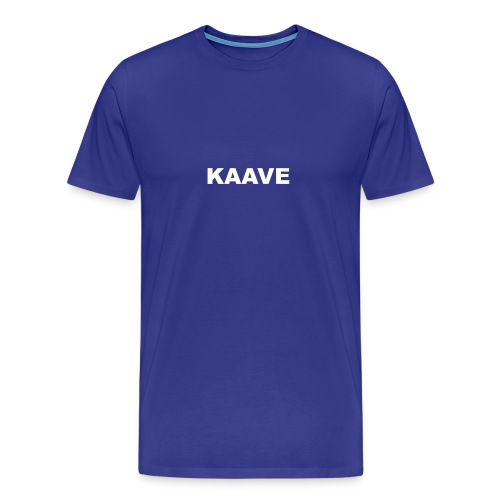 KAAVE logo merch - Premium-T-shirt herr