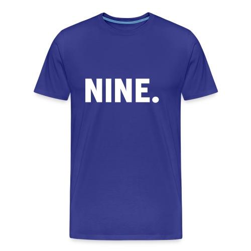 Nine Snapback - Mannen Premium T-shirt
