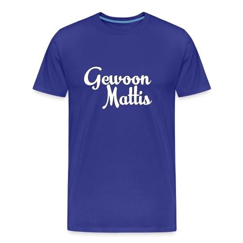GewoonMattis Shirt Vrouwen - Mannen Premium T-shirt