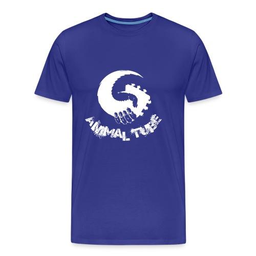 Animal Tube Hand White - Männer Premium T-Shirt