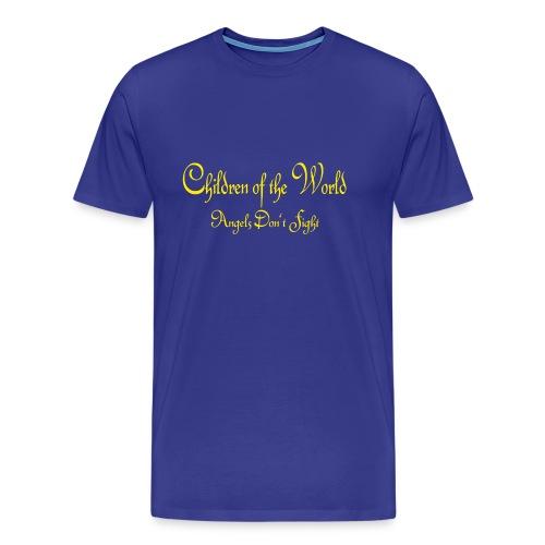 Children of the World - Angels don´t fight - Männer Premium T-Shirt