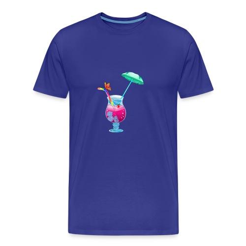 Cocktail estival - T-shirt Premium Homme