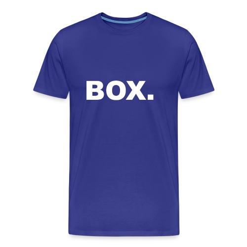 BOX. Clothing T-Shirt Men - Mannen Premium T-shirt