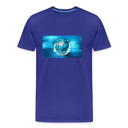 Shark_logo - Maglietta Premium da uomo