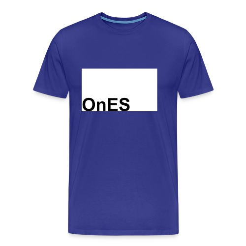 OnES Markenlogo 2 - Männer Premium T-Shirt