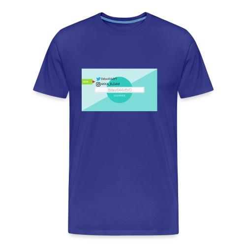 ELDAVI044 - Camiseta premium hombre