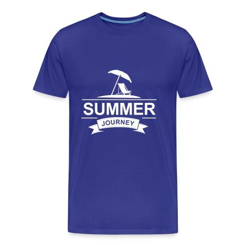 Summer Journey - Männer Premium T-Shirt