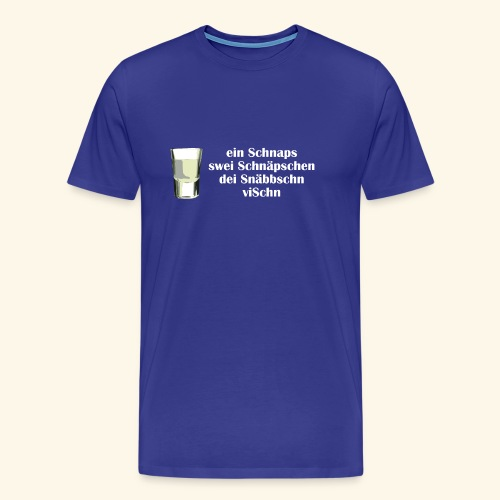 schnaps2 - Männer Premium T-Shirt
