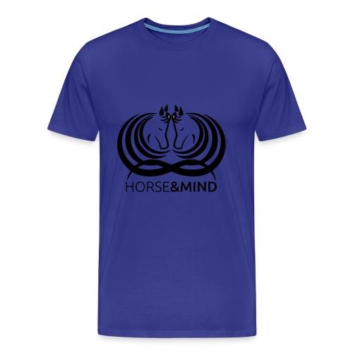 Logo Horse and Mind - Männer Premium T-Shirt