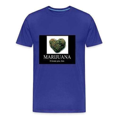 Marijuana - Mannen Premium T-shirt