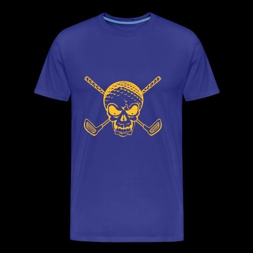 Schwarzlicht Semester Totenkopf - Männer Premium T-Shirt