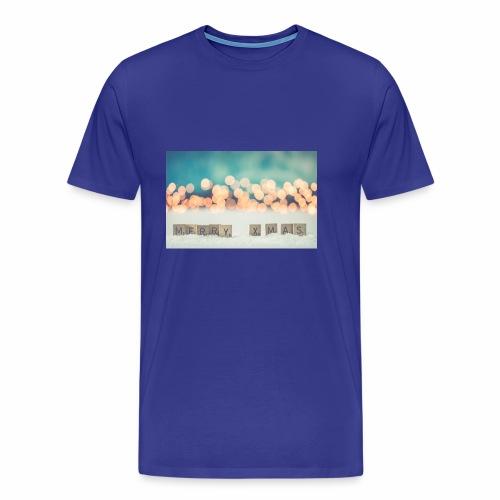 Merry Christmas - Herre premium T-shirt