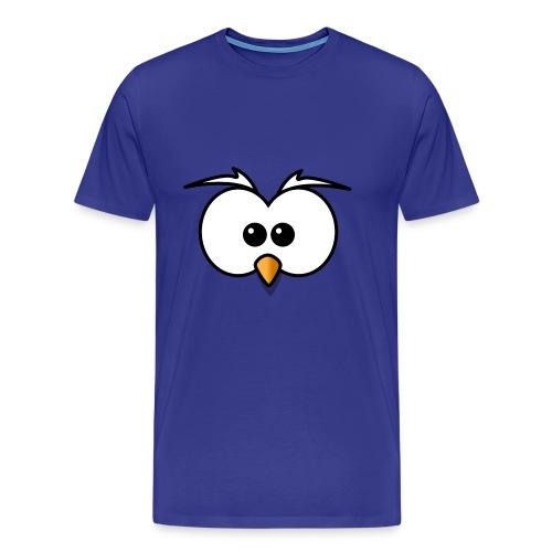 Eule - Männer Premium T-Shirt