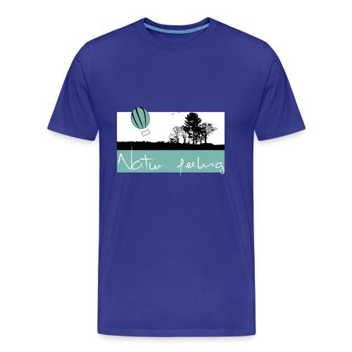 Ballon Natur - Natur feeling - Männer Premium T-Shirt
