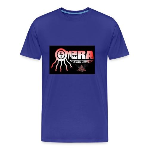 OMEN RA RED AND BLACK LOGO - Men's Premium T-Shirt