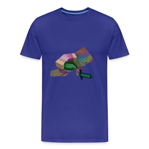 fallande bubblav - Premium-T-shirt herr