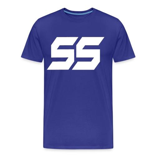 S - Premium-T-shirt herr