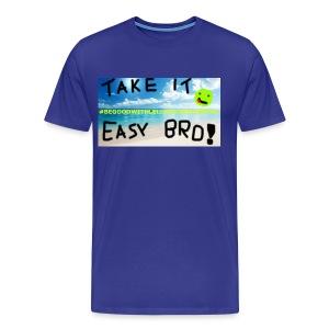 #BEGOODWITHLELLECHILEEESMUSIC - Premium-T-shirt herr