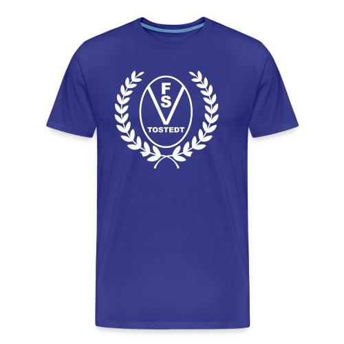 Logo mit Lorbeerkranz - Männer Premium T-Shirt
