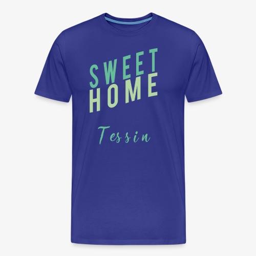 sweet Home tessin - Männer Premium T-Shirt