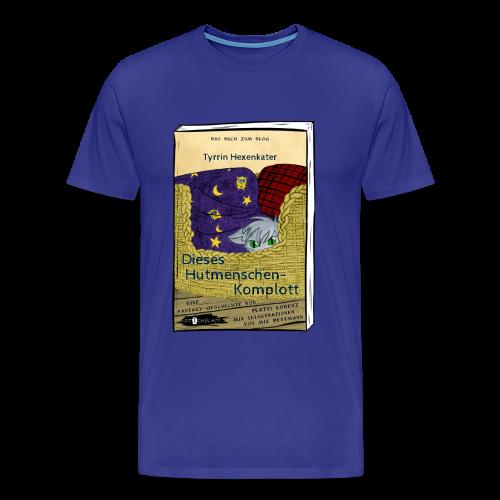 BuchCover Dieses Hutmenschenkomplott - Männer Premium T-Shirt
