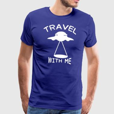 ++ ++ Reis med meg - Premium T-skjorte for menn