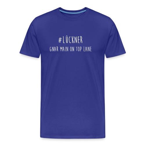 Das ist der Offiziele Merch von #LücknerArmy - Männer Premium T-Shirt