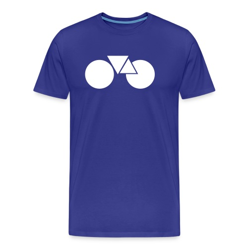 Koers hip fixie fixed gear - Mannen Premium T-shirt