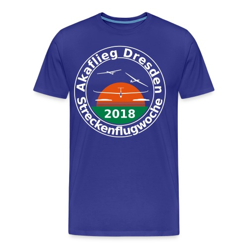 Streckenflugwoche Akaflieg Dresden 2018 - Männer Premium T-Shirt
