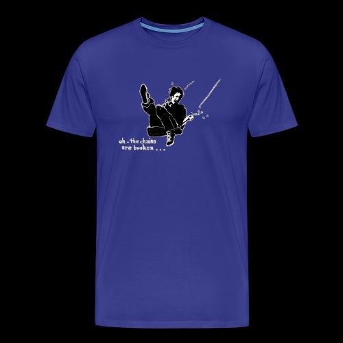 Auf der Schaukel oder oh the chains are broken - Männer Premium T-Shirt