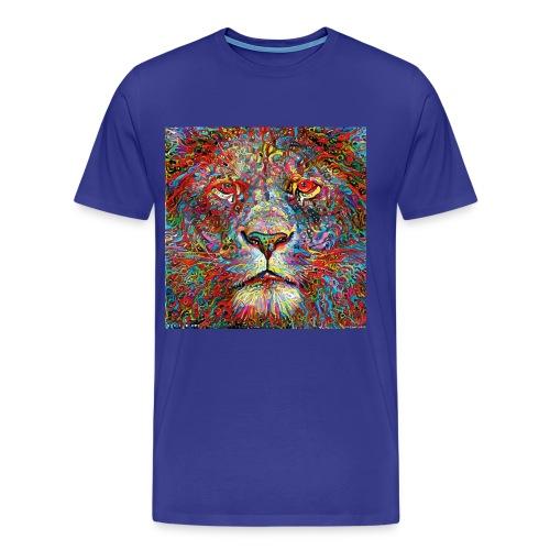 Deep Lion MaxColor CMJN08 - T-shirt Premium Homme