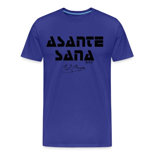 Asante Sana BLACK - Men's Premium T-Shirt