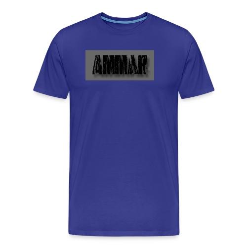Ammar logo printed T-Shirt - Men's Premium T-Shirt