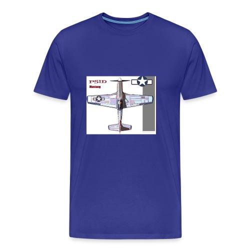 p 51d - Men's Premium T-Shirt