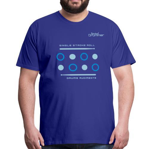 Single Stroke Roll - T-shirt Premium Homme
