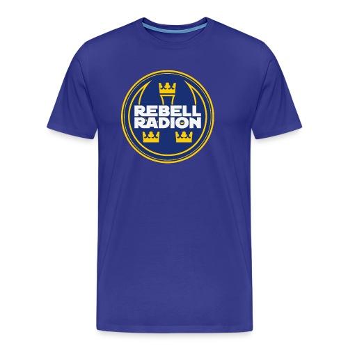 Rebellradion 2016 - Premium-T-shirt herr