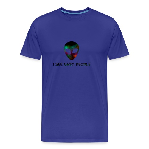 I SEE GREY PEOPLE - Men's Premium T-Shirt