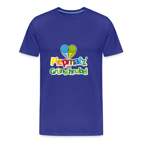 Piepmatz und Grünschnabel - Männer Premium T-Shirt