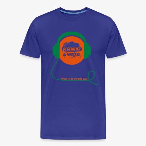 DJ Gewitter Basic 2.0 - Männer Premium T-Shirt