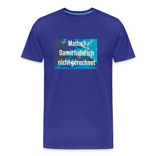 Mathe - Männer Premium T-Shirt
