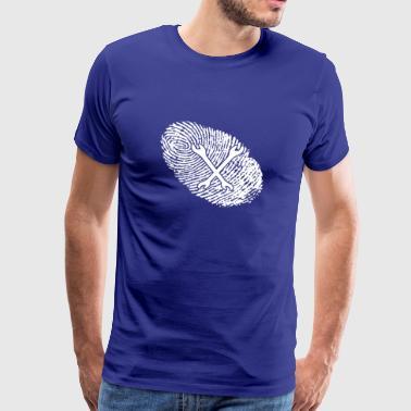 papilarnych DNA mechatronika dns prezent - Koszulka męska Premium