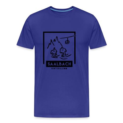 Skido's Saalbach - Mannen Premium T-shirt