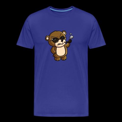 AngryTeddy - Men's Premium T-Shirt