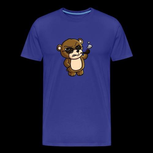 AngryTeddy - Men's Premium T-Shirt