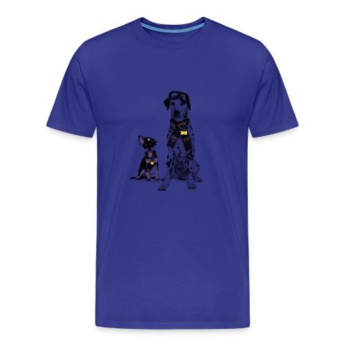 dogs - Men's Premium T-Shirt