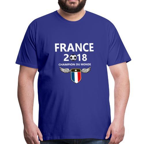 Champion du monde france 2018 T-shirt - Mannen Premium T-shirt