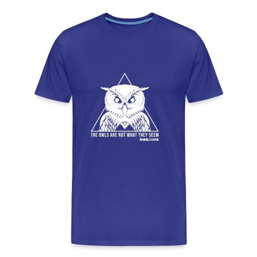 THE OWLS ARE NOT WHAT THEY SEEM - RADIOLEVANO - Maglietta Premium da uomo
