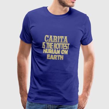 Carita - Camiseta premium hombre