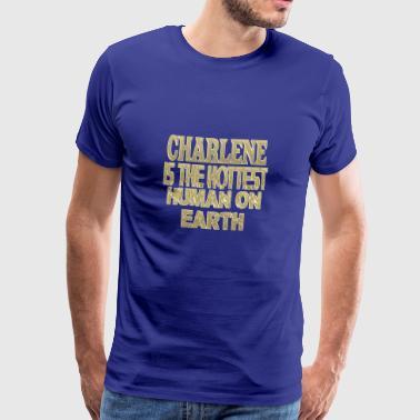 Charlene - Premium T-skjorte for menn